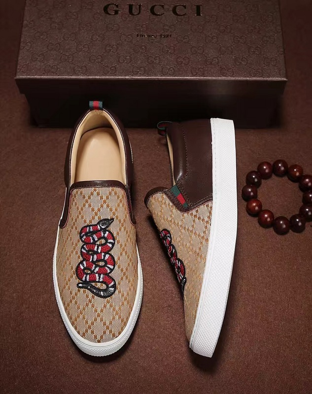 d52b523665 gucci snake Loafer shoes – trap King store
